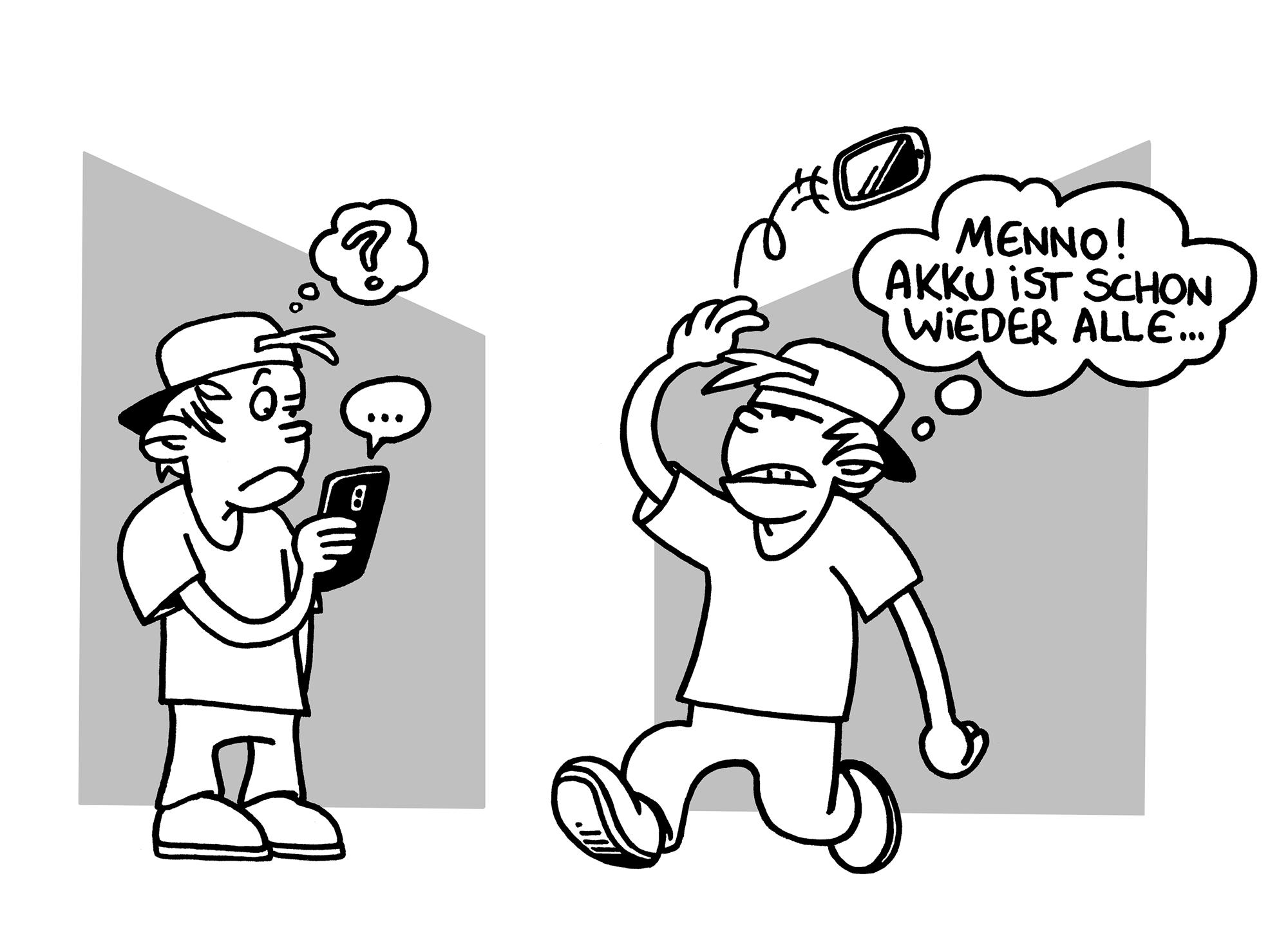 Wegwerfsmartphone