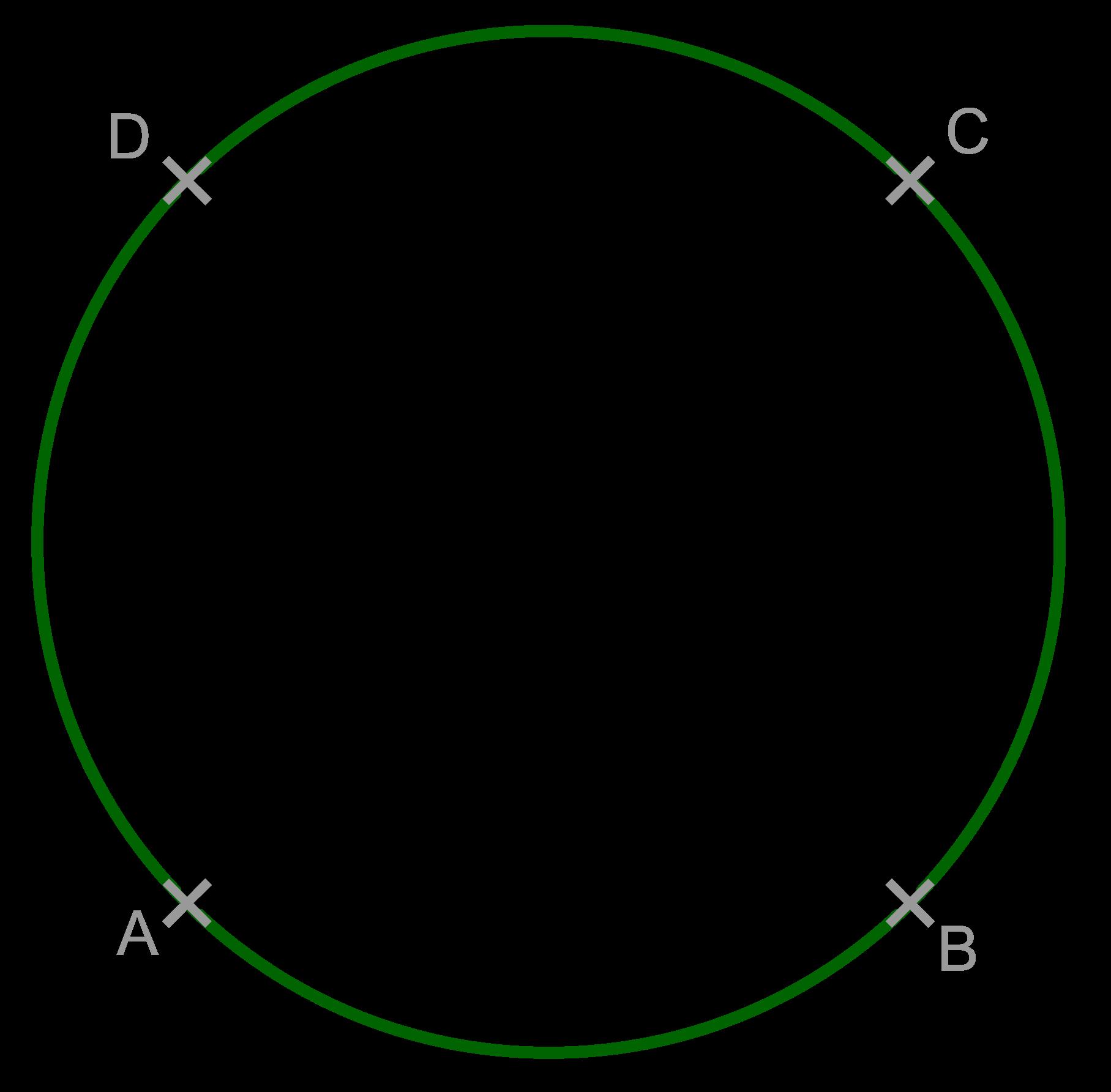 Quadrat mit Umkreis