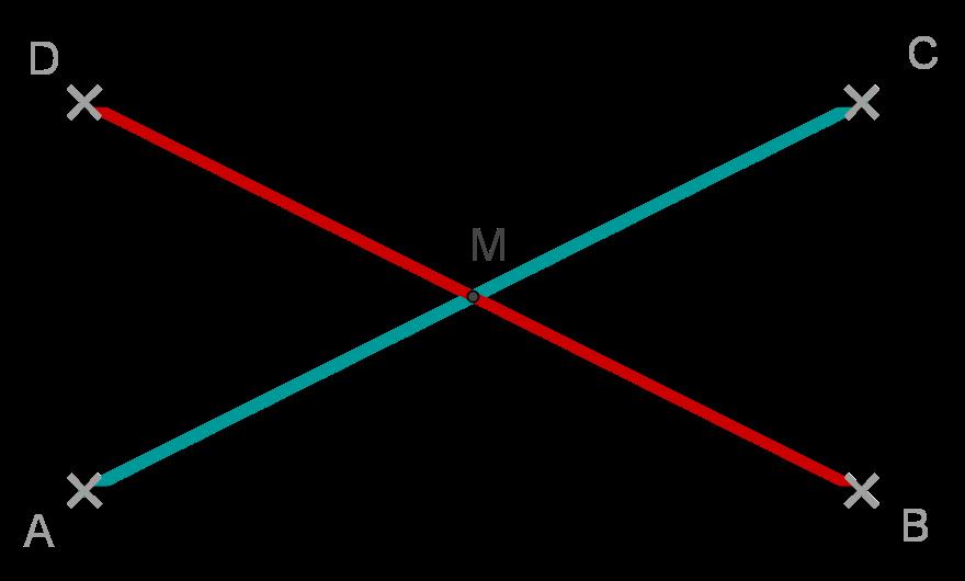 Rechteck Diagonalen halbieren sich