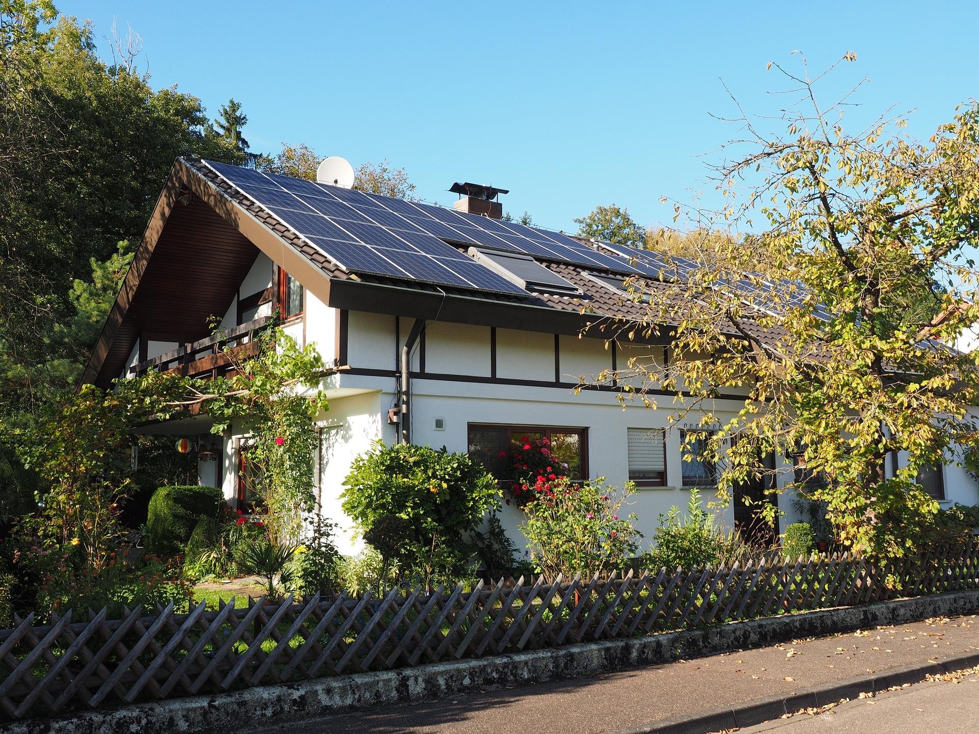 Solarzellendach