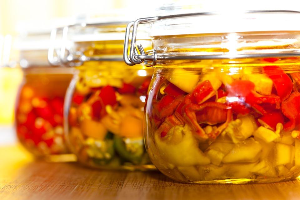 Peperoni in Öl