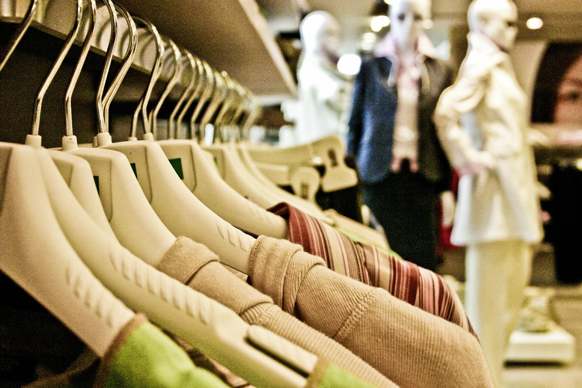 Kleidungsauswahl