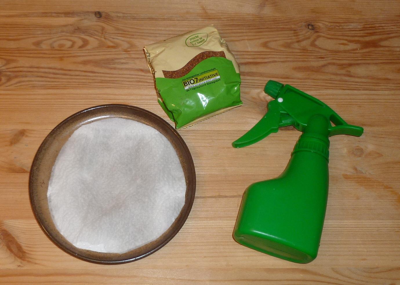 Keimprobe Material