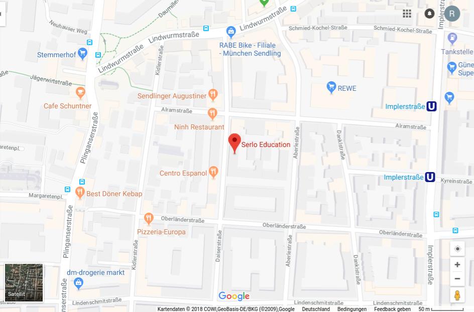 Serlo Büro Google Maps