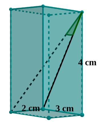 Quader mit Diagonalen
