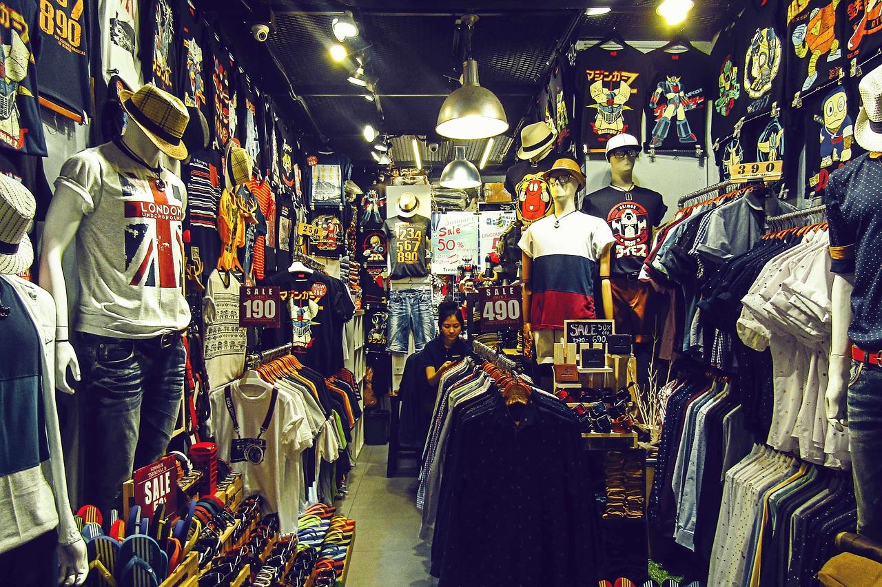 Kleidungsgeschäft