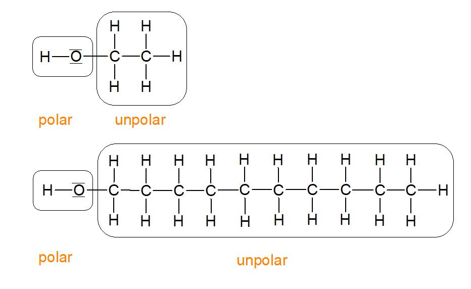 Polar und unpolar