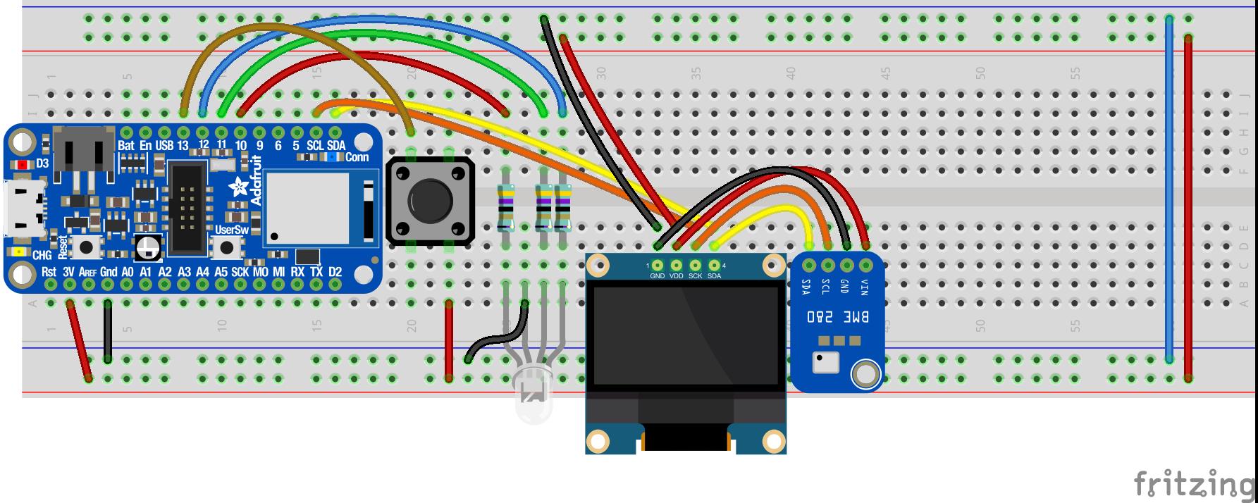 Bosch Sensor und Display
