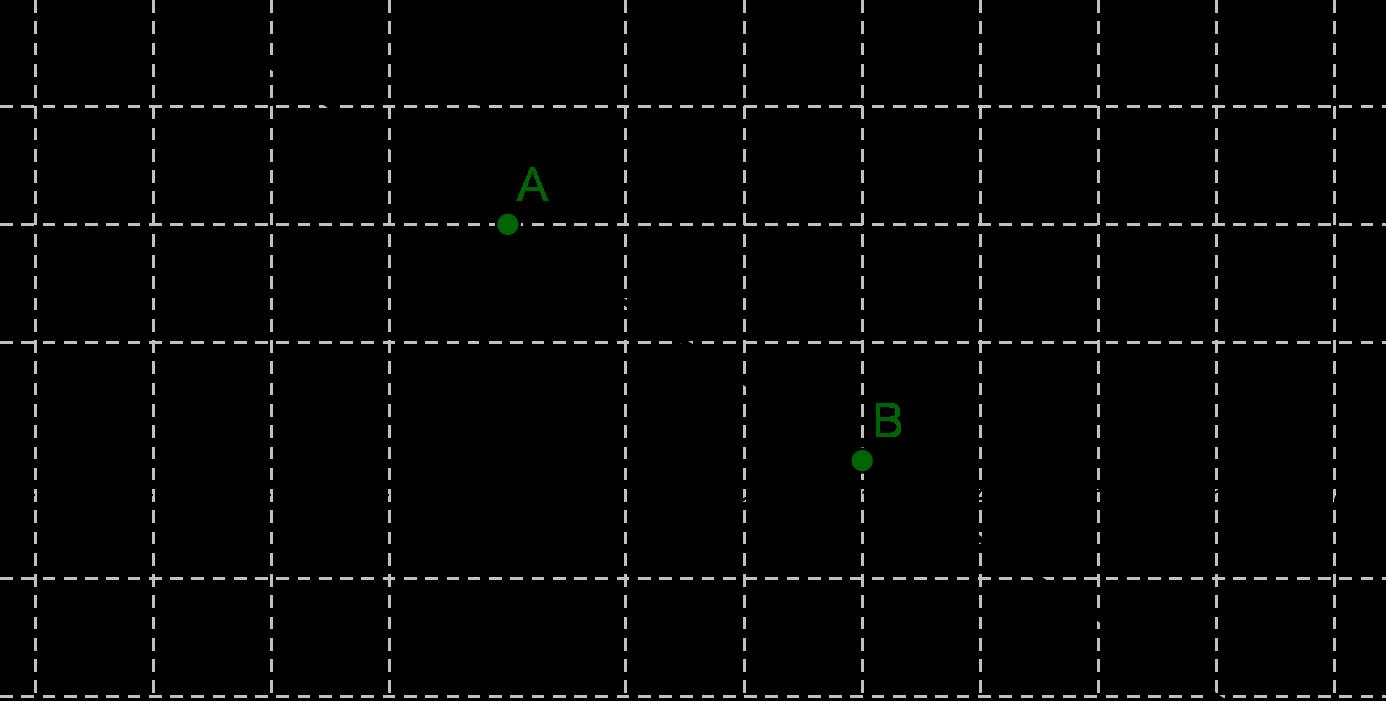 Gerade f(x) = -2/3 x + 2 im Koordinatensystem eingezeichnet