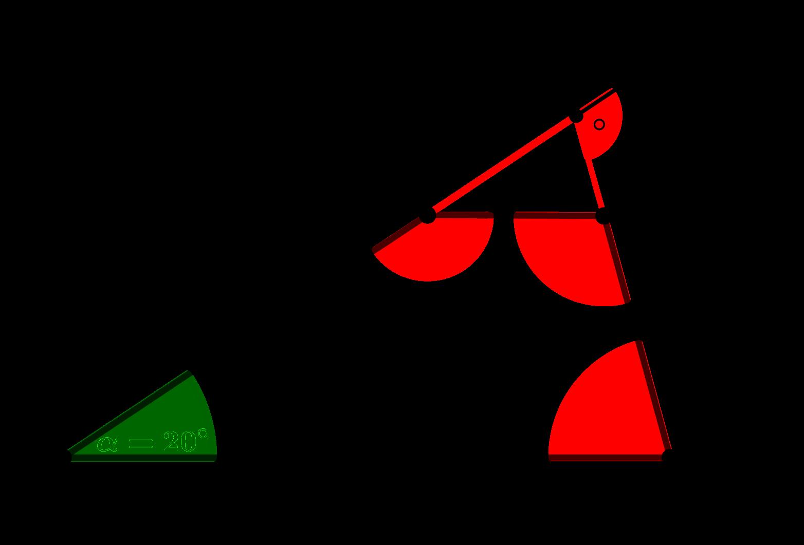 Trapez mit den eingezeichneten Winkeln