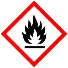 Bild mit einer Flamme