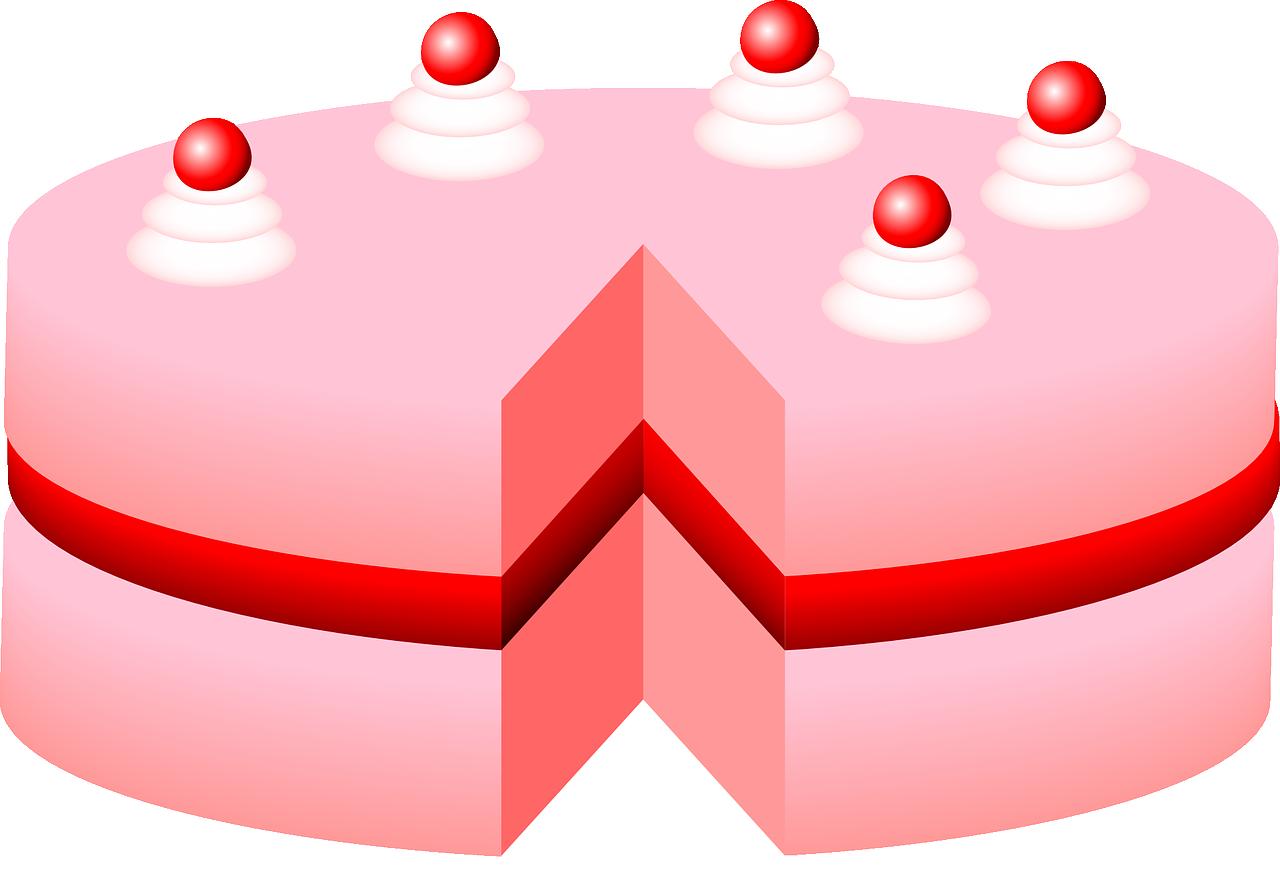 Kuchen als Beispiel