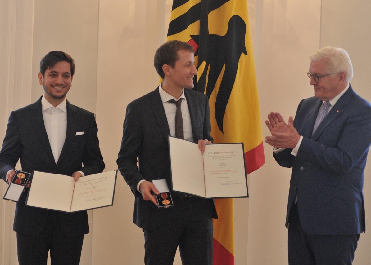 Simon Köhl, Aeneas Rekkas, Bundesverdienstkreuz