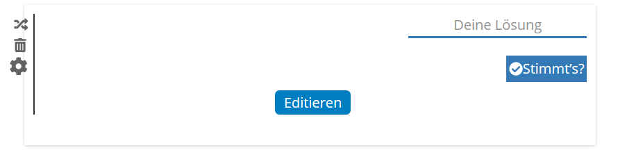 Editieren