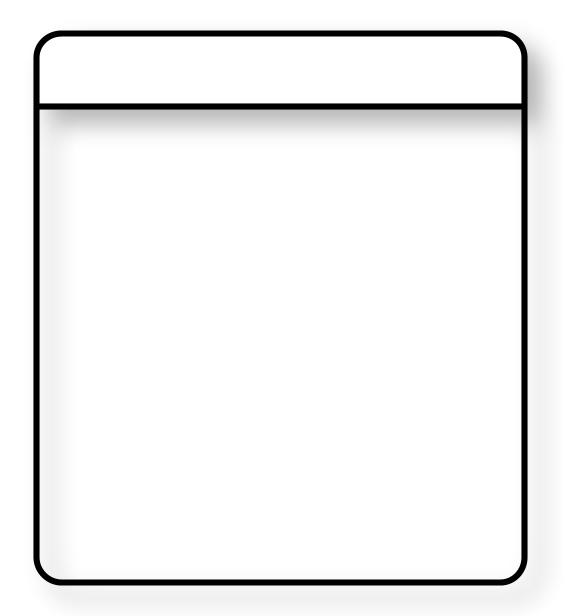 Leere Objektkarte als Beispiel