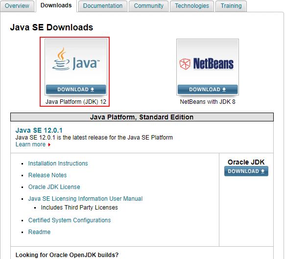 Abbildung 2.1 JDK installieren