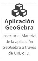 Aplicación GeoGebra