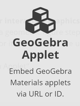 Overview GeoGebra