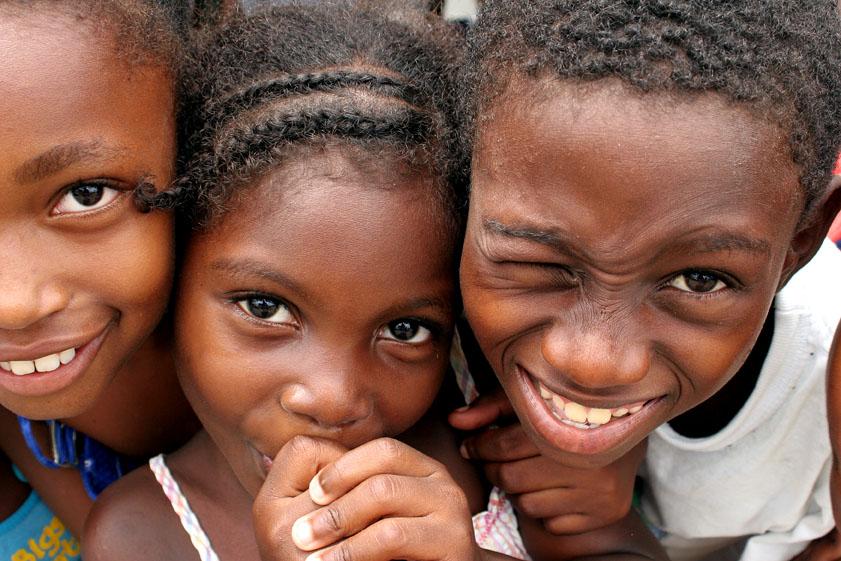 Niños Afro Colombianos