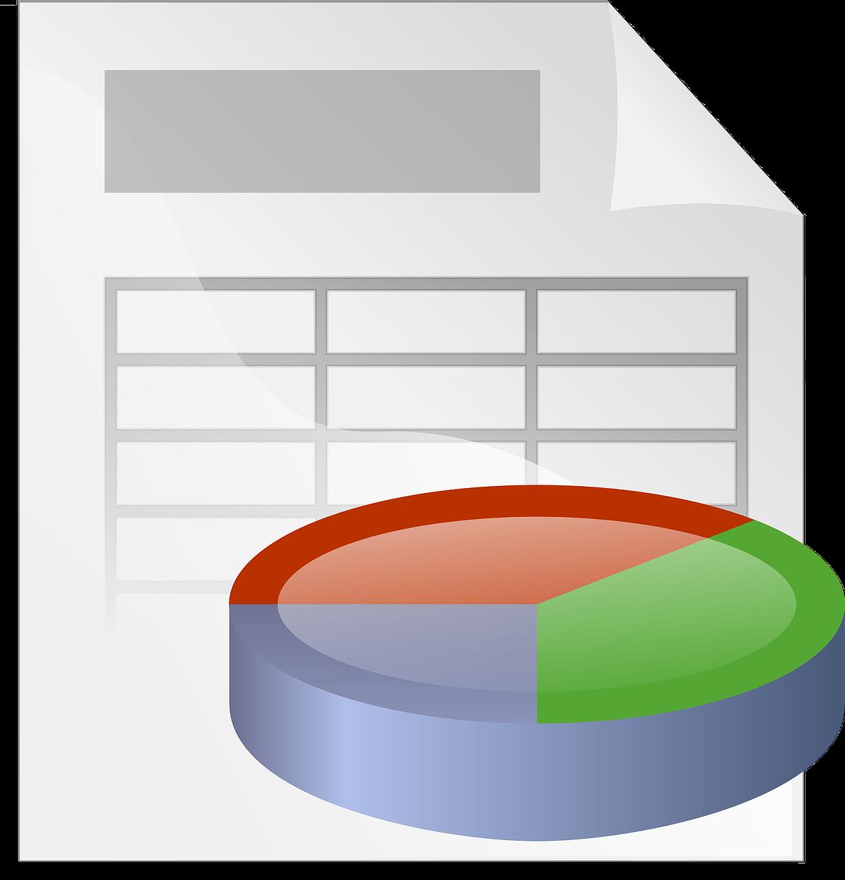 Vektorgrafik zur Tabellenkalkulation (https://pixabay.com/de/vectors/tabellen-grafik-gesch%C3%A4ft-bericht-24956/)