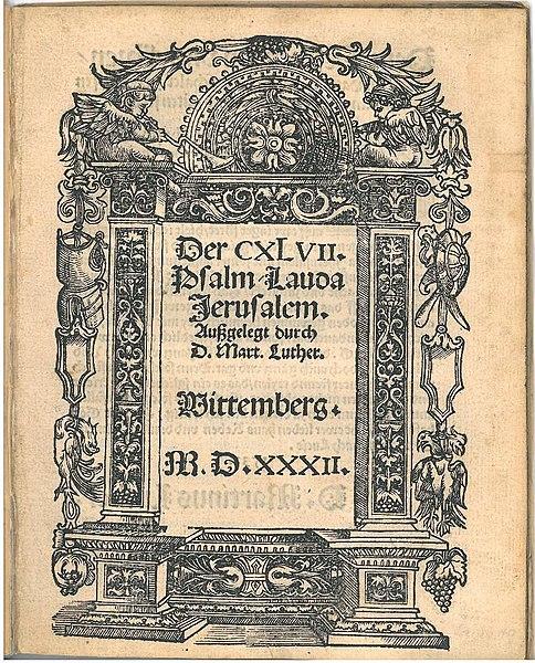 Luther-Schrift, 1532