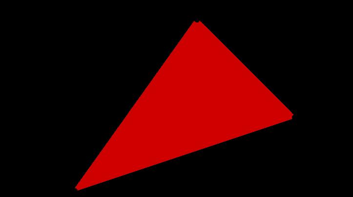 Skizze eines Dreiecks