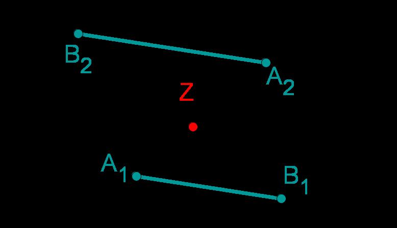 Strahlensatz parallele Geraden 2 - richtig