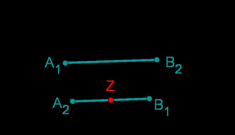 Strahlensatz parallele Geraden 2 - falsch
