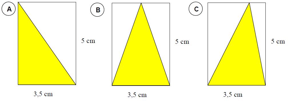 Beispiel zur Flächenberechung eines Dreiecks