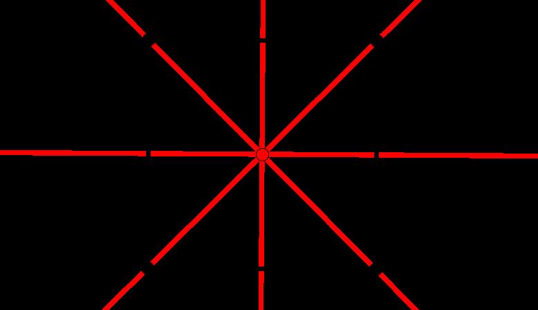 Symetrieachse eines Quadrats - Achsensymmetrie