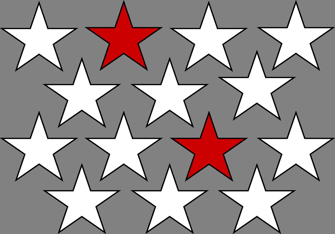 Bruch mit Sternen