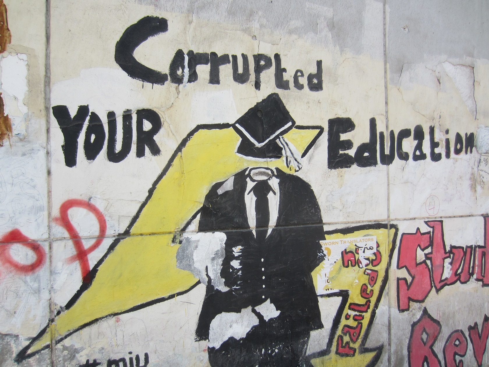 Corrupted Education