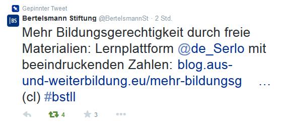 Bertelsmann Stiftung Serlo