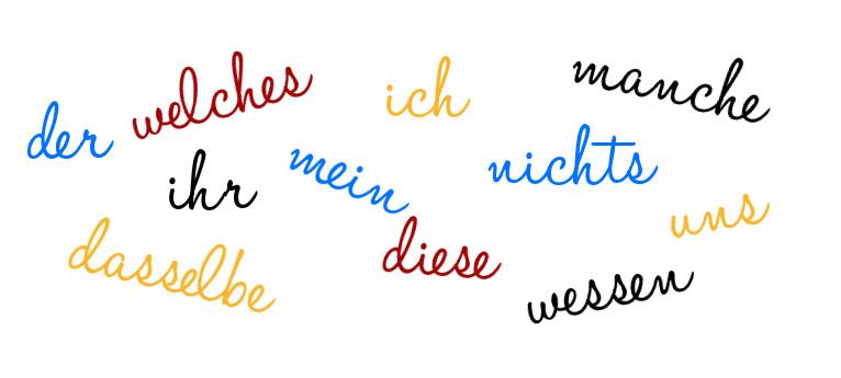 pronomen deutsch als fremdsprache artikel 187 serloorg