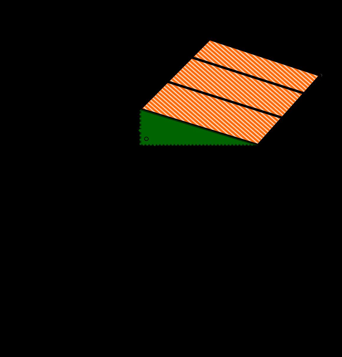 Seitenkante mit Pythagoras berechnen