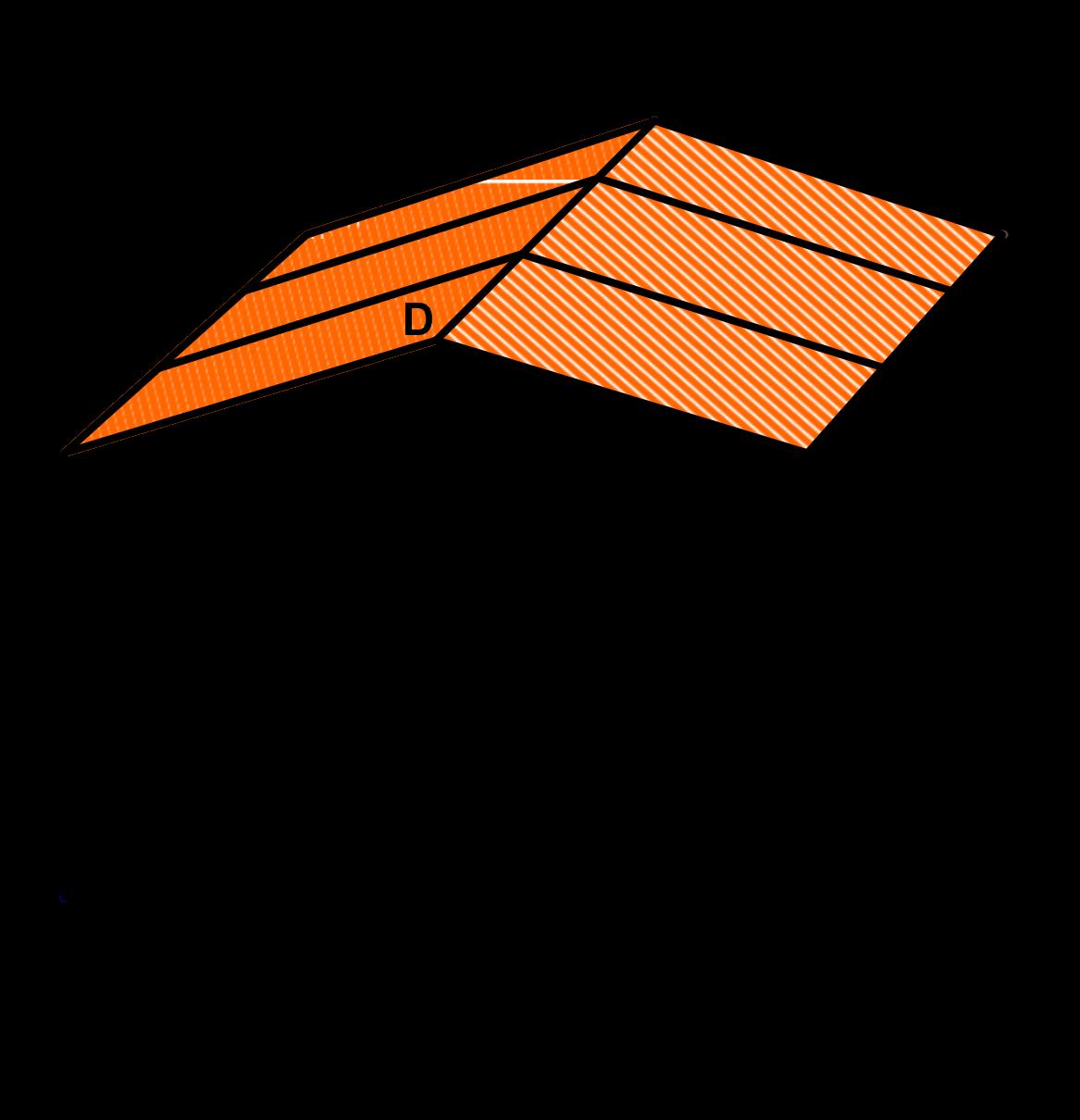 Holzhäuschen-Dachflächen