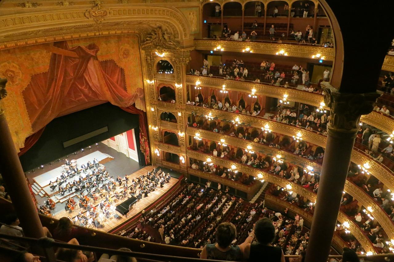 Zuschauerraum Opernhaus
