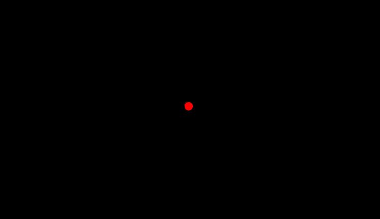 Parallelogramm mit angezeigtem Symmetriepunkt
