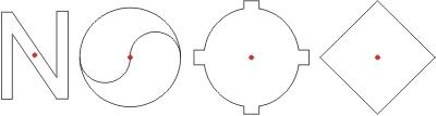 punktsymmetrische Figuren symmetriezentrum