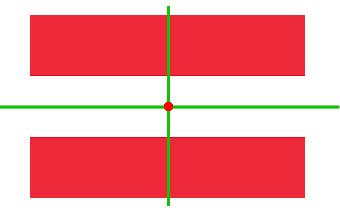 Österreich Flagge Achsensymmetrie