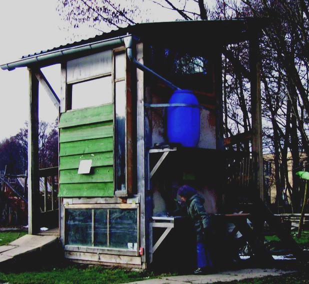 Kompostklo Solarmodul