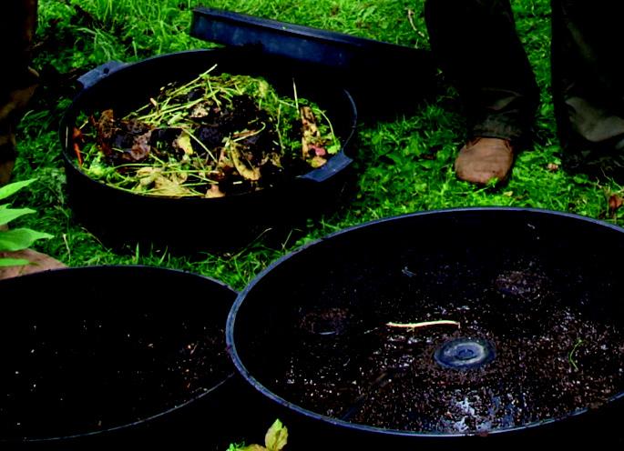 Wurmfarm Einzelteile