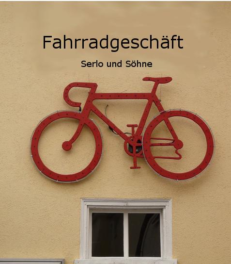 Logo eines Fahrradgeschäfts