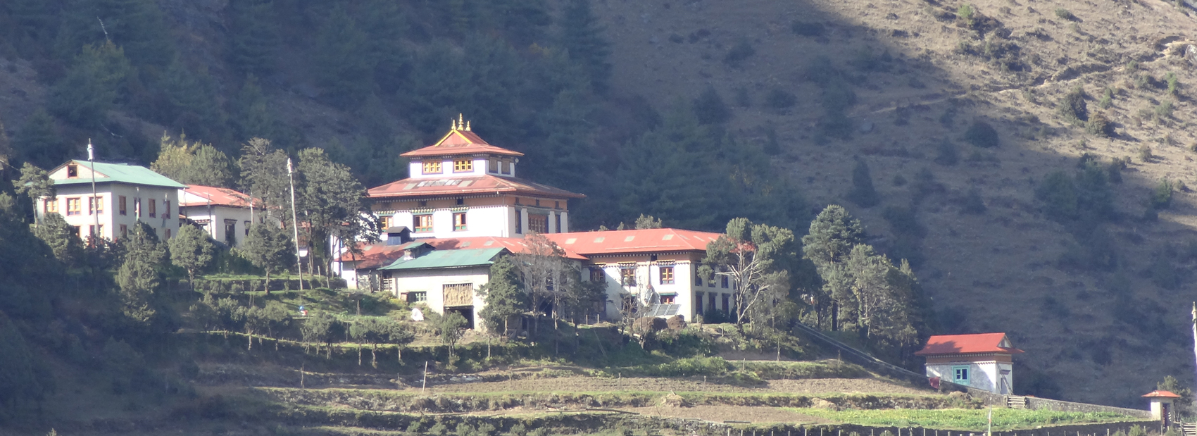 Kloster Serlo im Himalaya