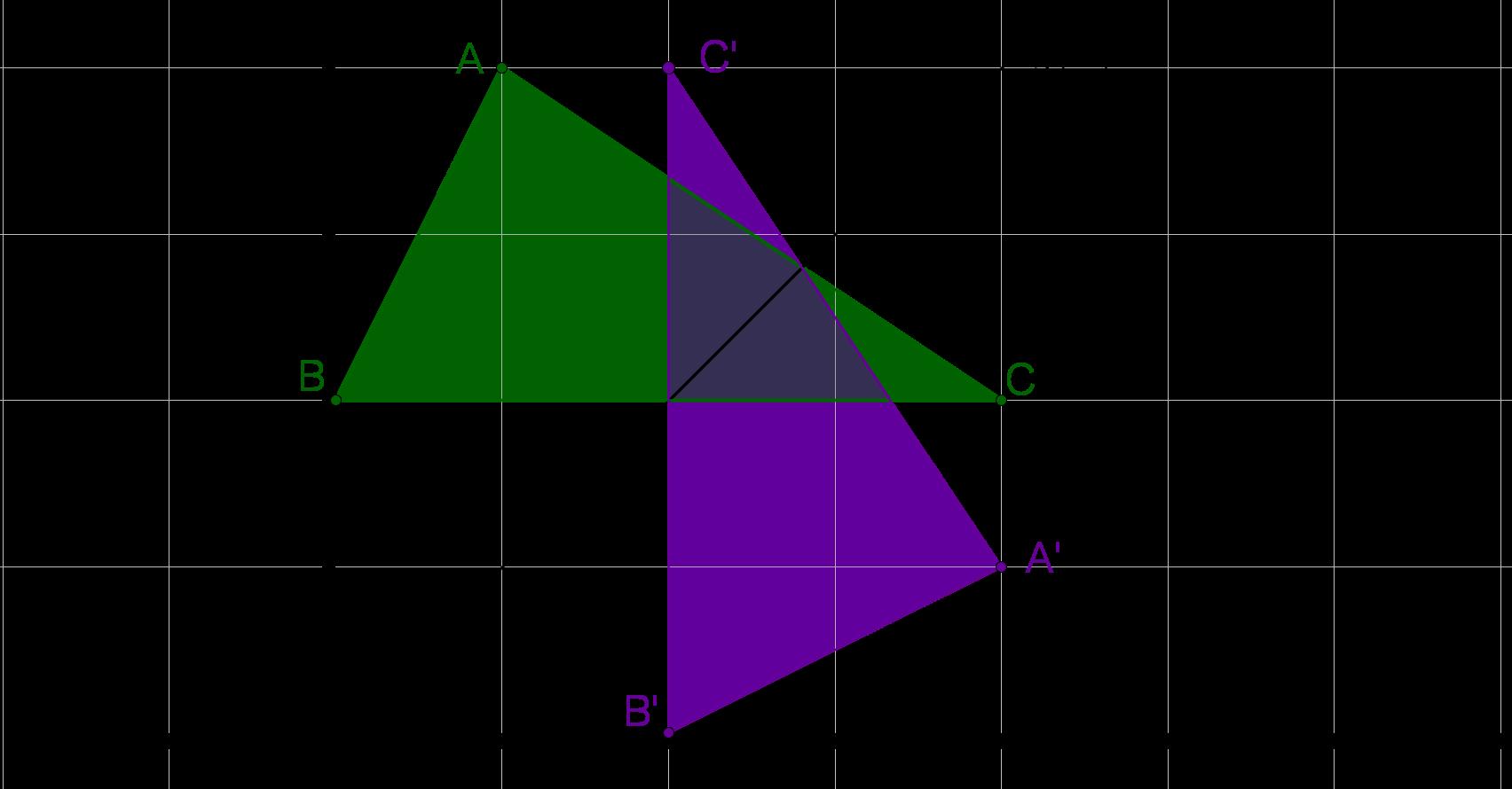Dreieck Achse