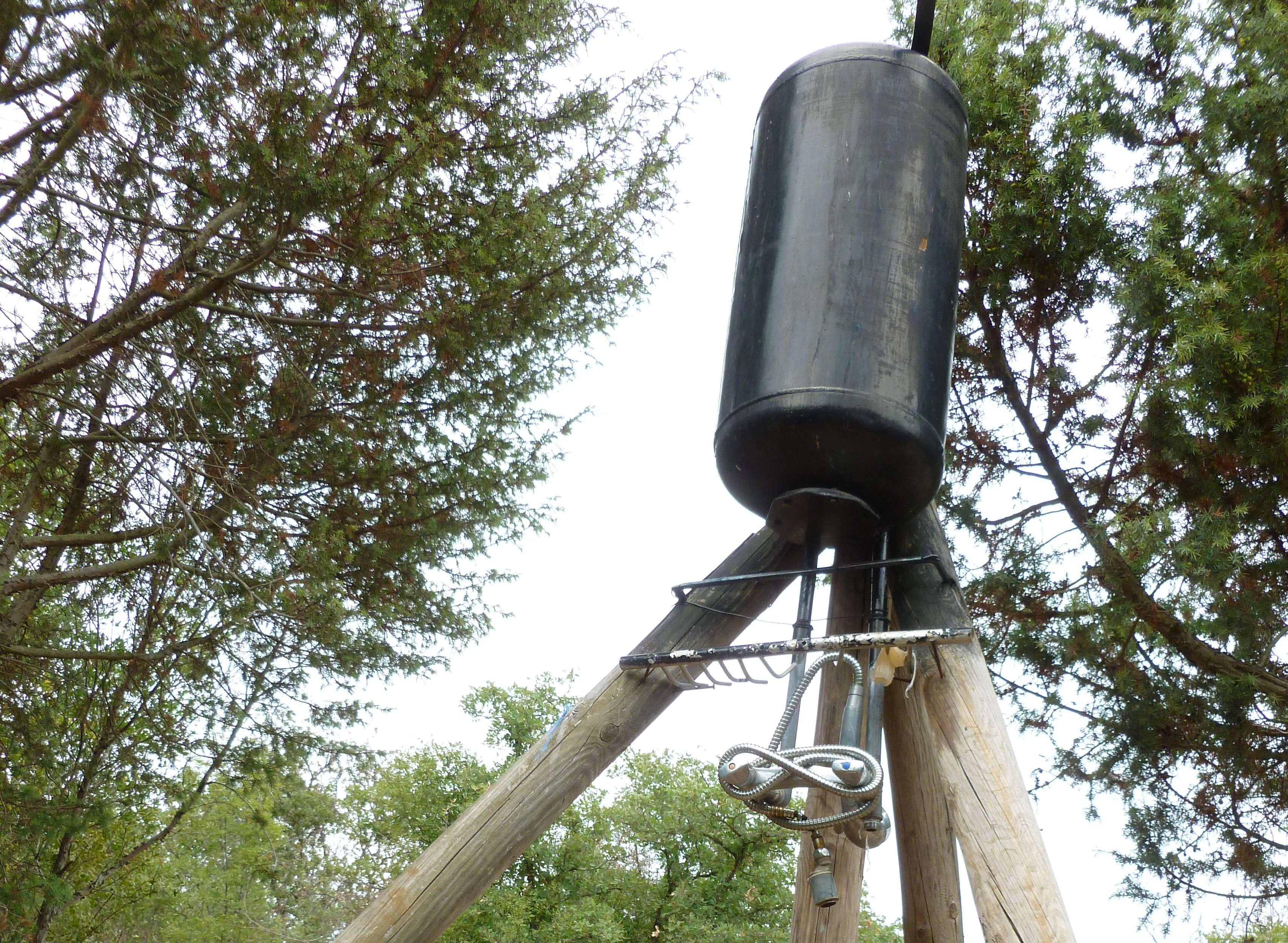 Solarwassertank