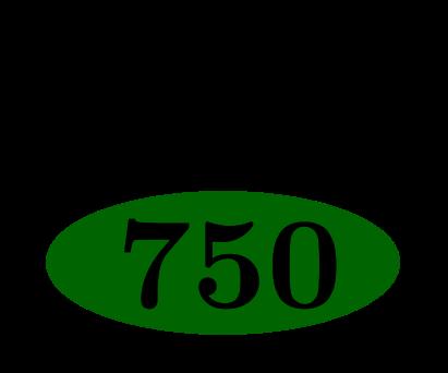 Neunzehn Siebenhunderfünfzigstel