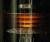Glasrohre mit Neon