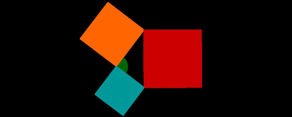 Satzgruppe des Pythagoras, Satz des Pythagoras