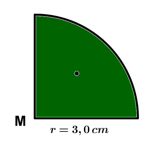 Fläche eines Viertelkreises